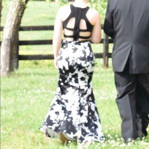 Blondie nites by Stacy Sklar mermaid prom dress 1